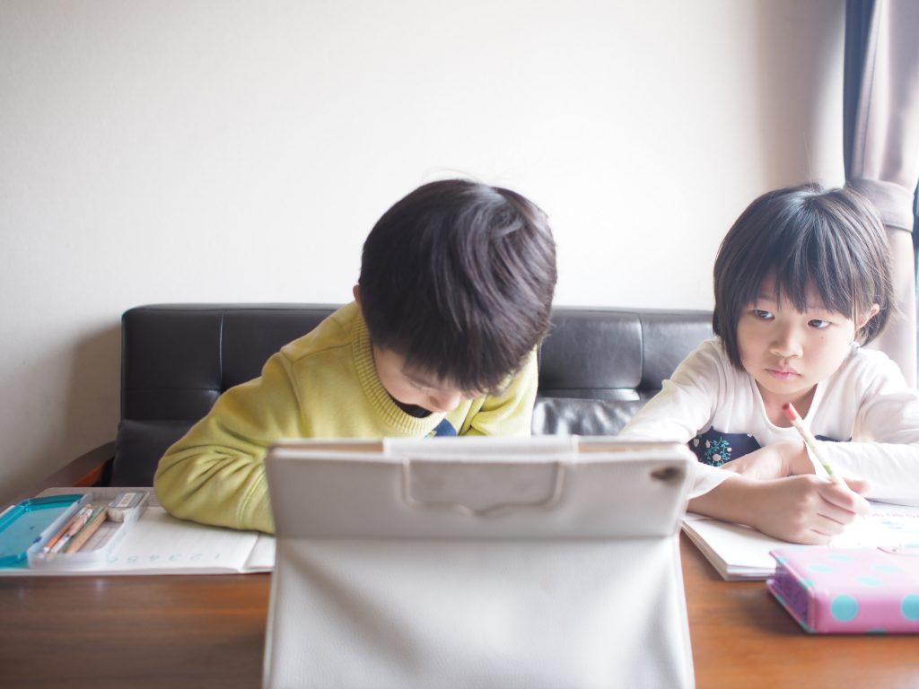 オンライン学習する兄弟